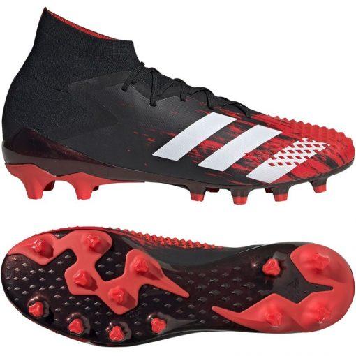 adidas PREDATOR MUTATOR 20.1 Kunstgras Voetbalschoenen (AG) Zwart Wit Rood