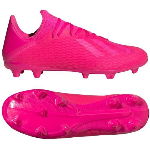 adidas X 19.3 Gras Voetbalschoenen (FG) Roze