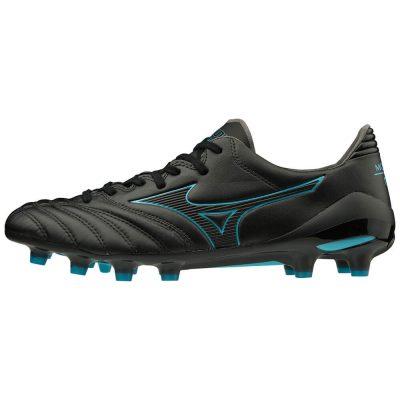 Mizuno Morelia NEO II MD Voetbalschoenen Zwart Blauw