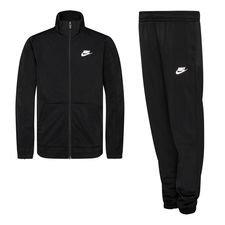 Nike Trainingspak NSW Poly - Zwart/Wit Kinderen