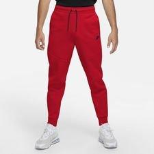 Nike Broek Tech Fleece - Rood/zwart