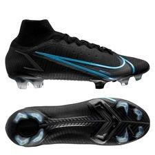 Nike Mercurial Superfly 8 Elite FG Black Pack - Zwart/Grijs
