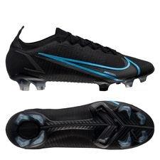 Nike Mercurial Vapor 14 Elite FG Black Pack - Zwart/Grijs