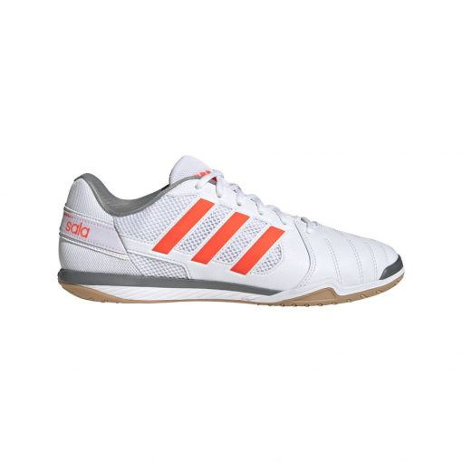 adidas Top Sala IC - Wit/Rood/Zilver